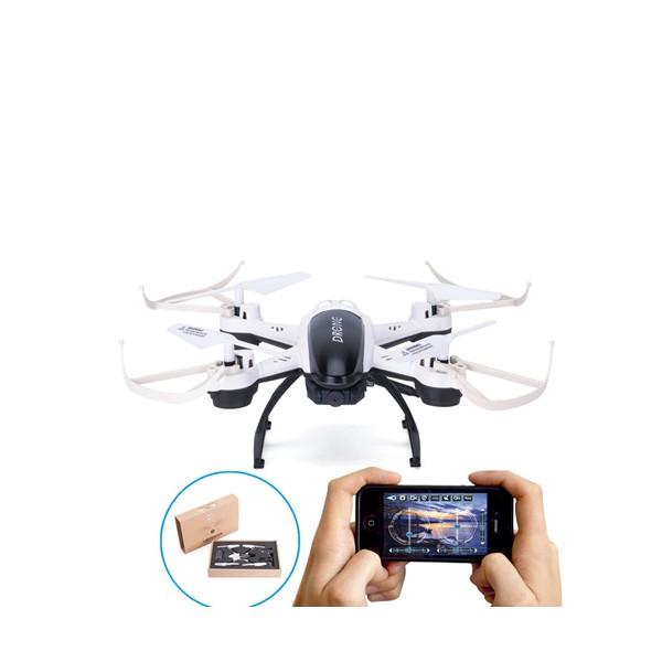 Дрон Lishitoys L6056 с 0.5mpx HD WiFi камера, HeadLess режим FPV 3.7V 380 mAh 1