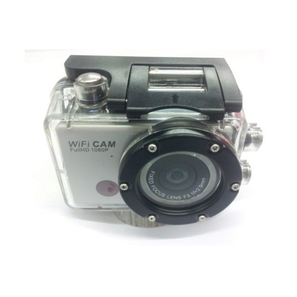 Екшън камера WDV5000 WiFi Връзка за Android и iOS, водоустойчива 3