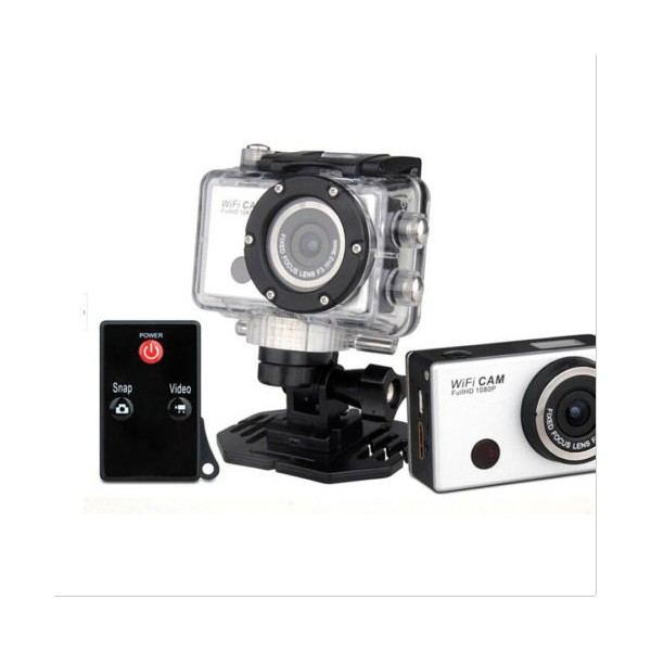 Екшън камера WDV5000 WiFi Връзка за Android и iOS, водоустойчива 4