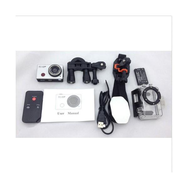 Екшън камера WDV5000 WiFi Връзка за Android и iOS, водоустойчива 7