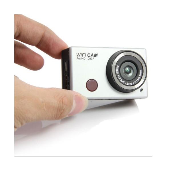 Екшън камера WDV5000 WiFi Връзка за Android и iOS, водоустойчива 9