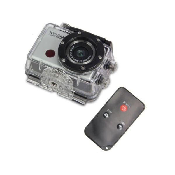 Екшън камера WDV5000 WiFi Връзка за Android и iOS, водоустойчива 11