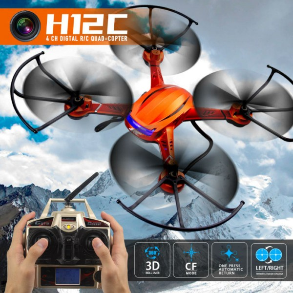 Квадрокоптер JJRC H12C RC HD 1080P камера 3.7V 750 mAh Li-Po батерия 2.4 GHz 23