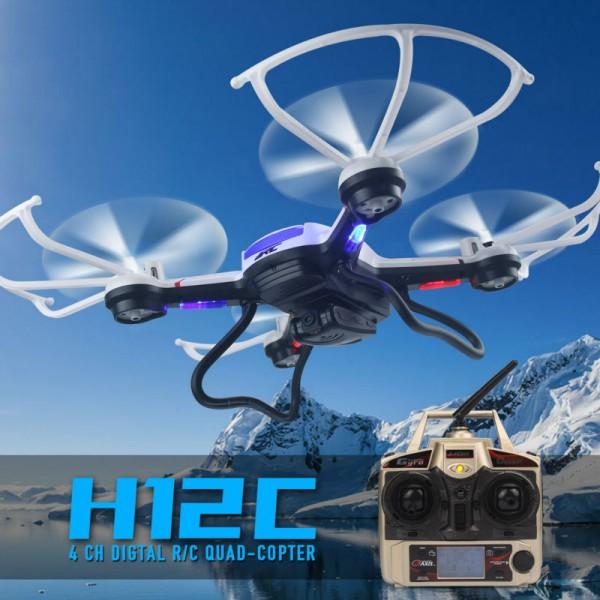 Квадрокоптер JJRC H12C RC HD 1080P камера 3.7V 750 mAh Li-Po батерия 2.4 GHz 24