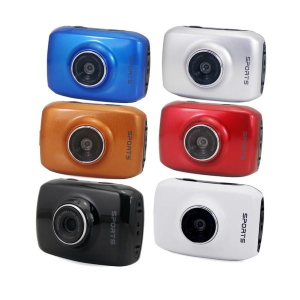 Камера за екстремни спортове HD качество HD видео запис 5 MP резолюция 7