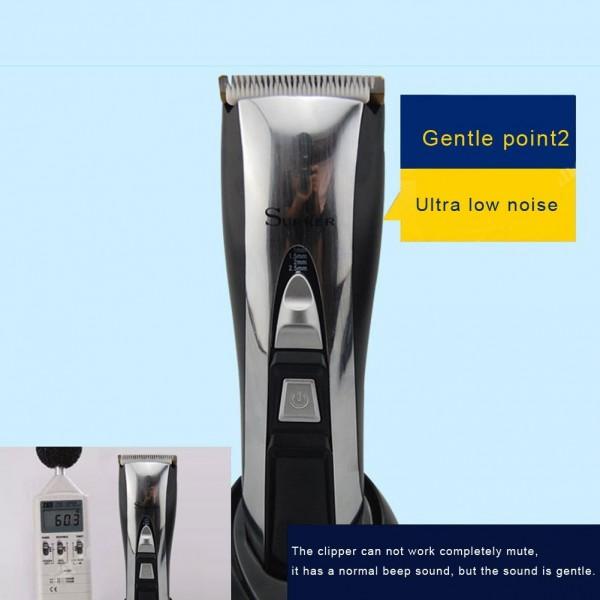 Керамична машинка за подстригване SURKER 12 В 1 - LCD Екран SHAV4 11