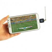 Usb dvb-t цифров тунер за андроид , антена приемник