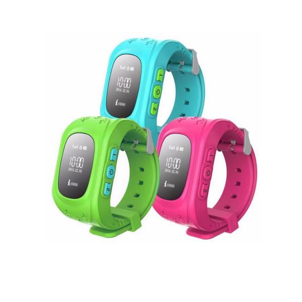 GPS часовник -телефон за деца - тракер за проследяване smart watch q50 1