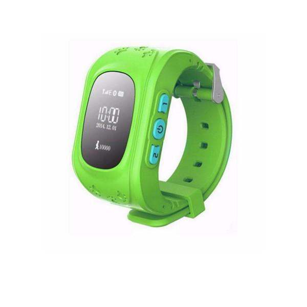 GPS часовник -телефон за деца - тракер за проследяване smart watch q50 11