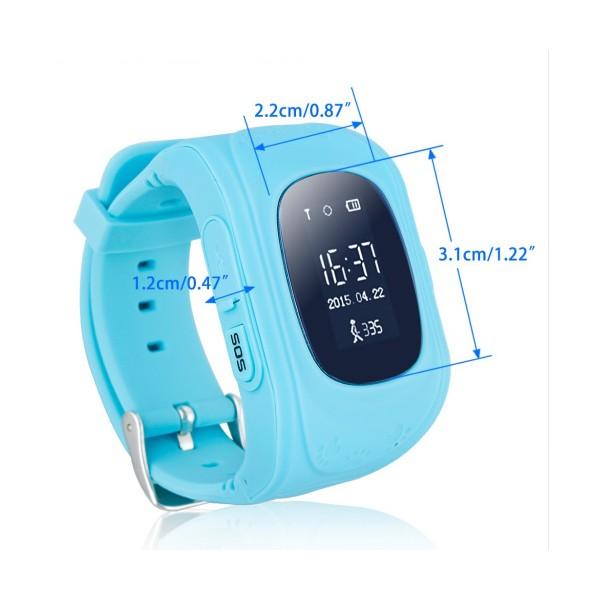 GPS часовник -телефон за деца - тракер за проследяване smart watch q50 18