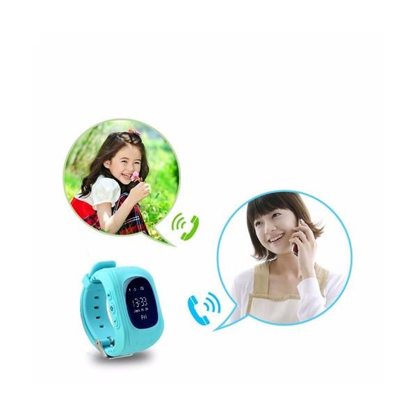 GPS часовник -телефон за деца - тракер за проследяване smart watch q50 20