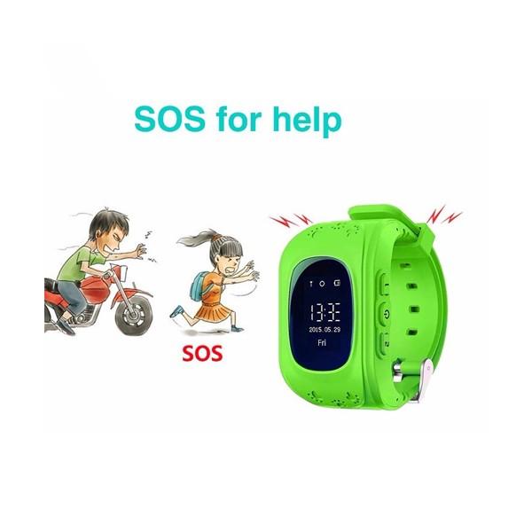 GPS часовник -телефон за деца - тракер за проследяване smart watch q50 22