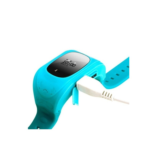 GPS часовник -телефон за деца - тракер за проследяване smart watch q50 25