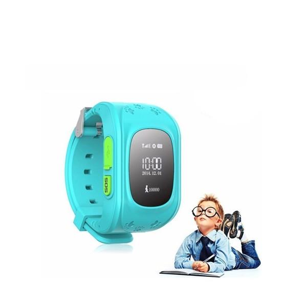 GPS часовник -телефон за деца - тракер за проследяване smart watch q50 26