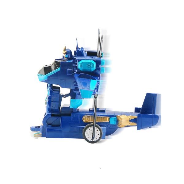 Детска играчка хеликоптер трансформър с дистанционно управление 2