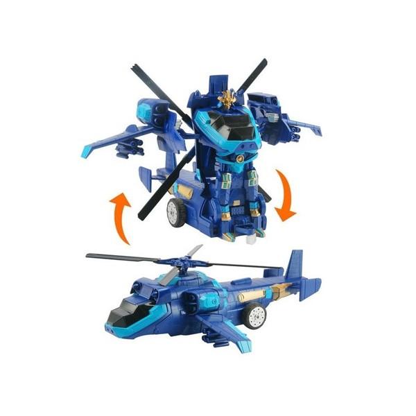 Детска играчка хеликоптер трансформър с дистанционно управление