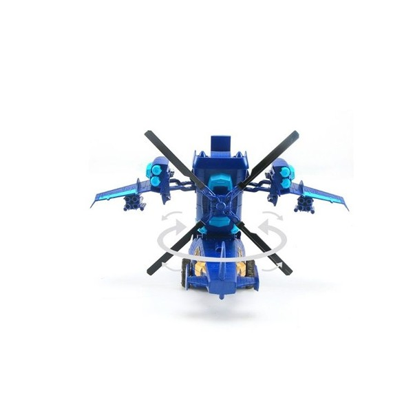 Детска играчка хеликоптер трансформър с дистанционно управление 5