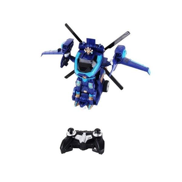 Детска играчка хеликоптер трансформър с дистанционно управление 6