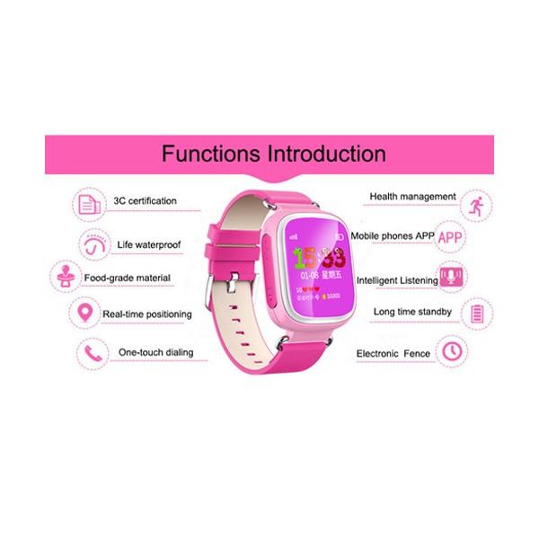 Детски смарт часовник телефон със Sim карта SOS обаждане и GPS Q80 2
