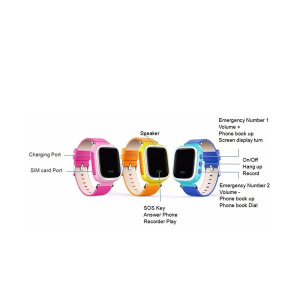 Детски смарт часовник телефон със Sim карта SOS обаждане и GPS Q80 8