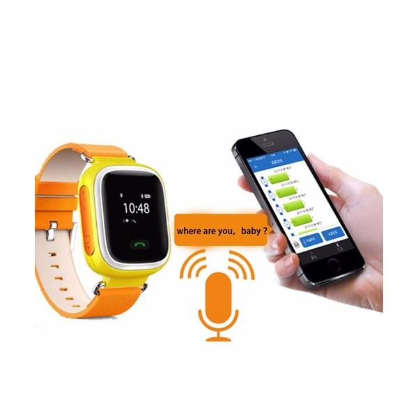 Детски смарт часовник телефон със Sim карта SOS обаждане и GPS Q80 9