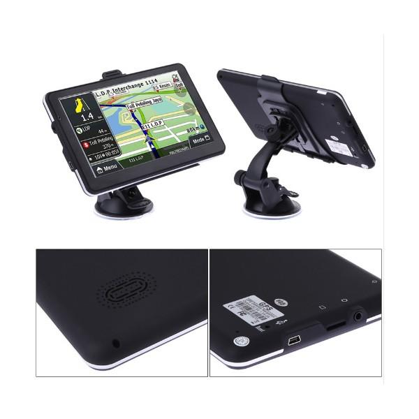 Навигация за кола с GPS, 7 инча HD екран и гласови указания на български 1