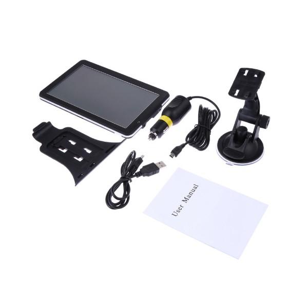 Навигация за кола с GPS, 7 инча HD екран и гласови указания на български 21