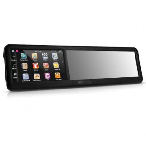 Огледало за обратно задно виждане с GPS навигация 4.3 инча, Bluetooth Noyokere