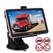 5 инчова GPS навигация за камион XGODY 560 с Bluetooth, карти от 2016 година