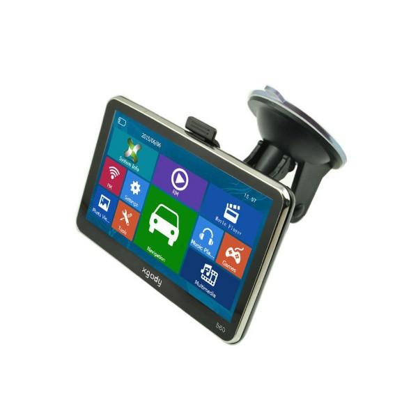 5 инчова GPS навигация за камион XGODY 560 с Bluetooth, карти от 2016 година 2