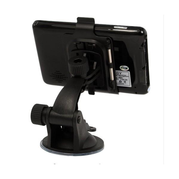 5 инчова GPS навигация за камион XGODY 560 с Bluetooth, карти от 2016 година 5
