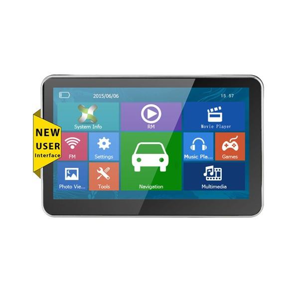 5 инчова GPS навигация за камион XGODY 560 с Bluetooth, карти от 2016 година 7