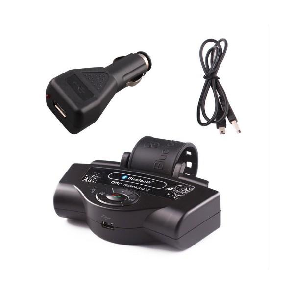 Bluetooth handsfree свободни ръце за волан на автомобил с високоговорител HF1 10
