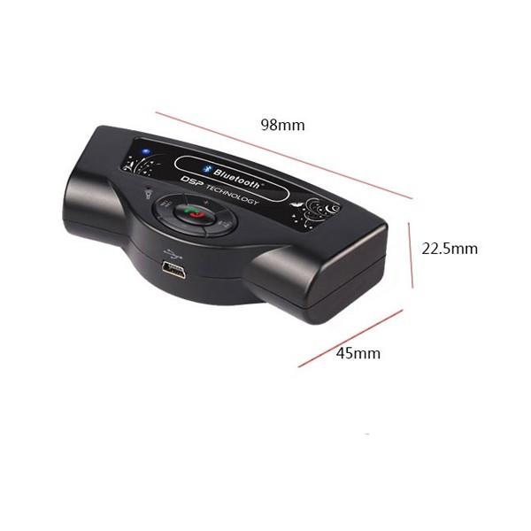 Bluetooth handsfree свободни ръце за волан на автомобил с високоговорител HF1 6