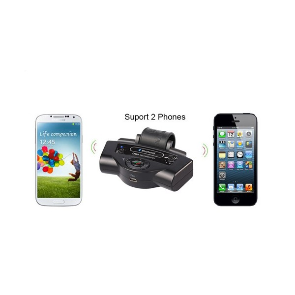 Bluetooth handsfree свободни ръце за волан на автомобил с високоговорител HF1 7