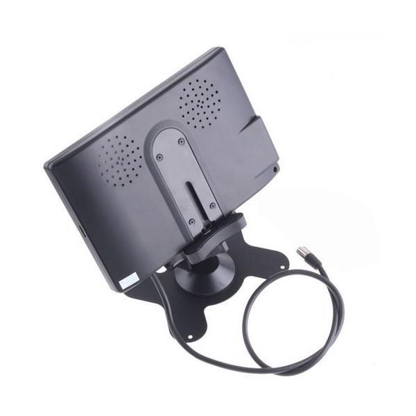 Монитор за кола с 7 инча LCD дисплей, HD 800 x 480 p и 2 AV изхода PK LCD2 8