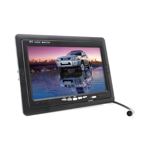 Монитор за кола с 7 инча LCD дисплей, HD 800 x 480 p и 2 AV изхода PK LCD2 9