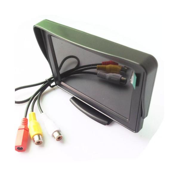 Монитор за камера за кола за задно виждане с HD качество 4.3 инча PK LCD1 2