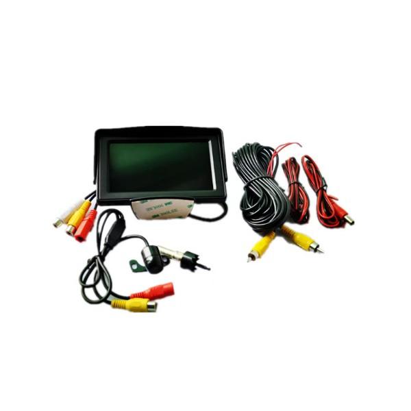 Монитор за камера за кола за задно виждане с HD качество 4.3 инча PK LCD1 6