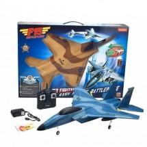 Пластмасов самолет играчка F15 с дистанционно управление