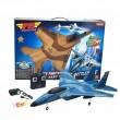 Пластмасов самолет играчка F15 с дистанционно управление 2
