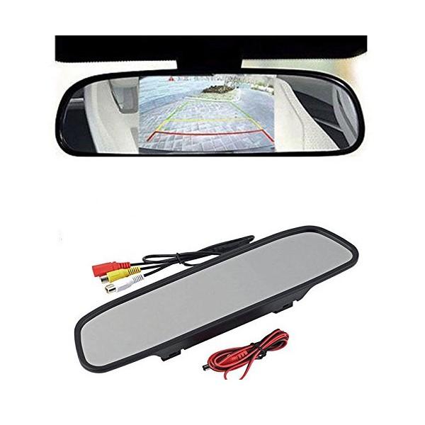 Огледало за обратно виждане с 4.3 инча TFT LCD екран PK MIR 6