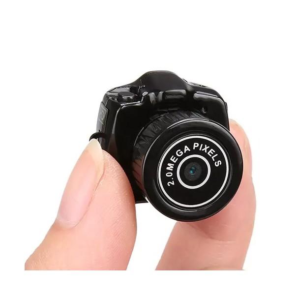 Дигитална мини видеокамера – Y2000 с HD резолюция и вграден микрофон, 4