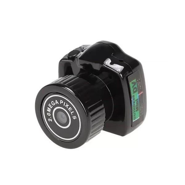 Дигитална мини видеокамера – Y2000 с HD резолюция и вграден микрофон, 6