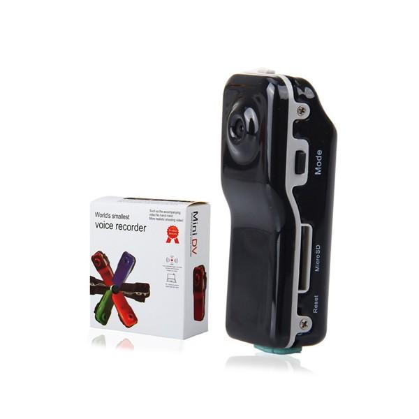 Мини камера Kebidu с гласово активиране720 х 480 px HD и оптичен зум -12Mpx SC5 12