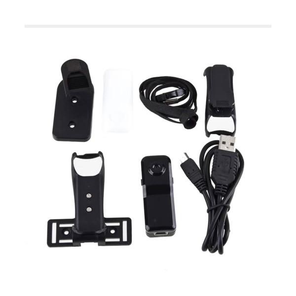 Мини камера Kebidu с гласово активиране720 х 480 px HD и оптичен зум -12Mpx SC5 11