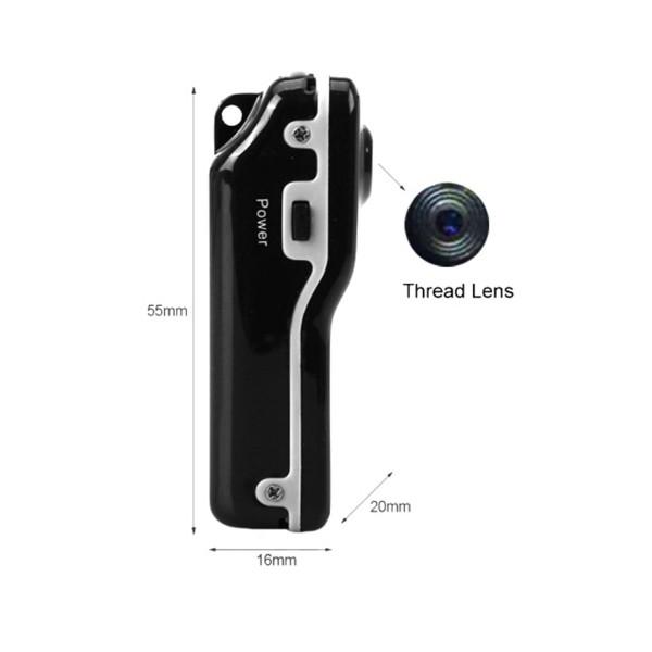 Мини камера Kebidu с гласово активиране720 х 480 px HD и оптичен зум -12Mpx SC5 7