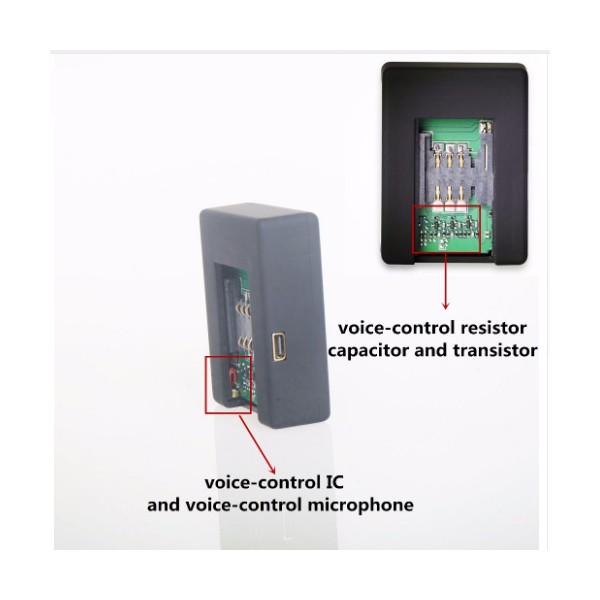 Безжично мини подслушващо устройство със SIM карта и гласов контрол - N9 2