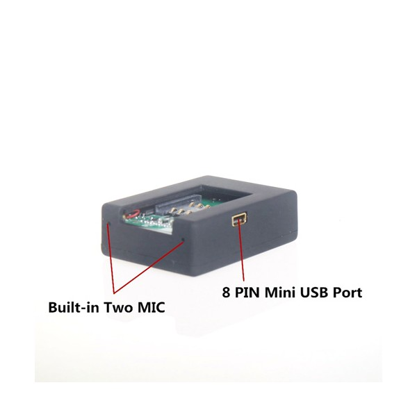 Безжично мини подслушващо устройство със SIM карта и гласов контрол - N9 6