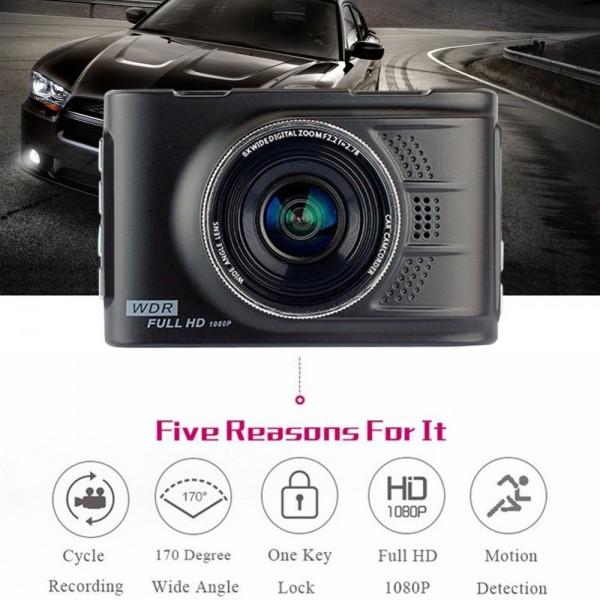 Видеорегистратор HD Tachograph Loop Recording 200 mAh-12Mpx AC29 18